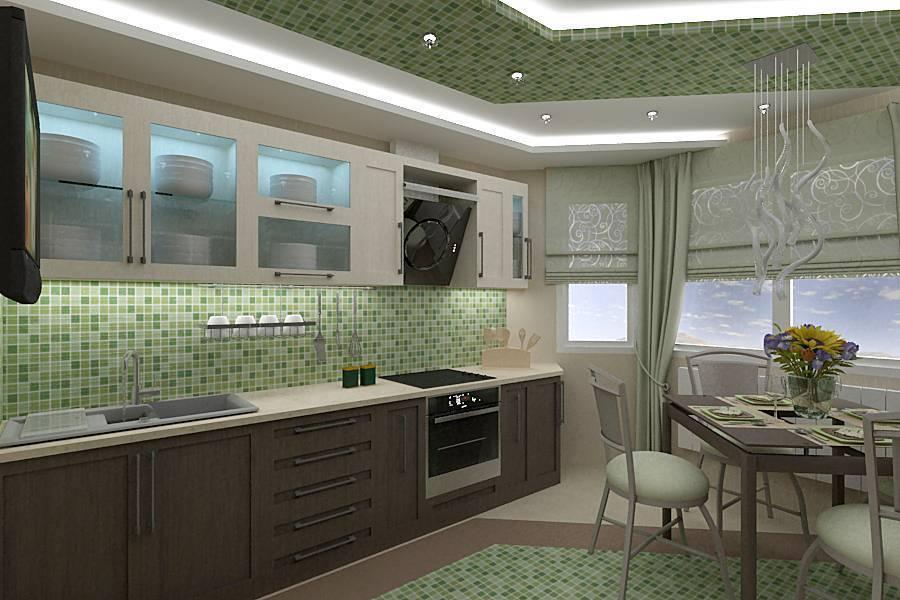 Отделка кухни: какими материалами лучше отделать стены и потолок своими руками