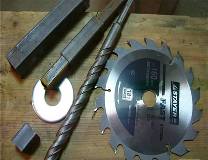 Ручной бур для столбов: изготовление своими руками