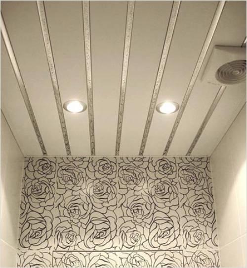 Потолок в туалете: 70+ фото и идей, современные варианты отделки