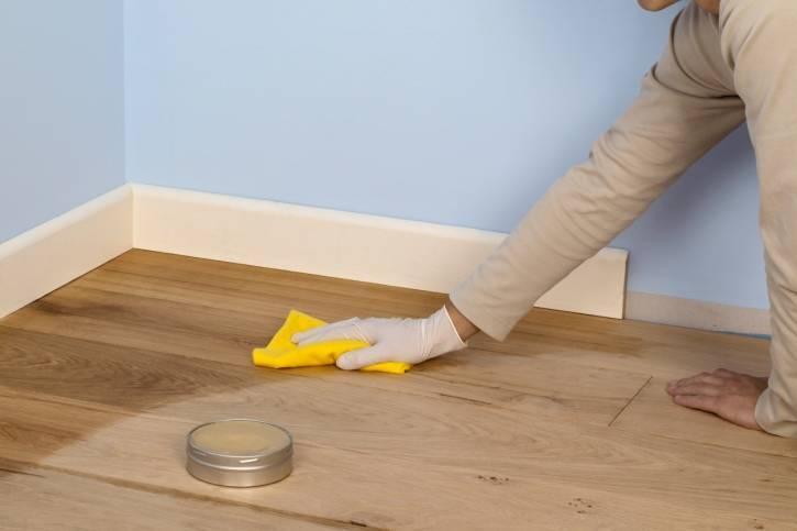 Как отмыть полы после ремонта? – быстро без разводов