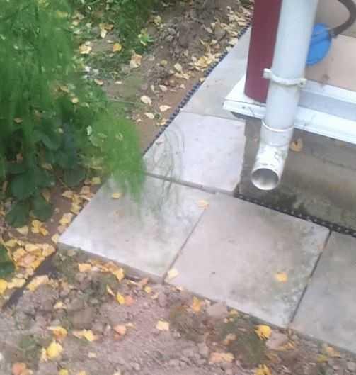 Эффективные способы отвода воды от фундамента дома