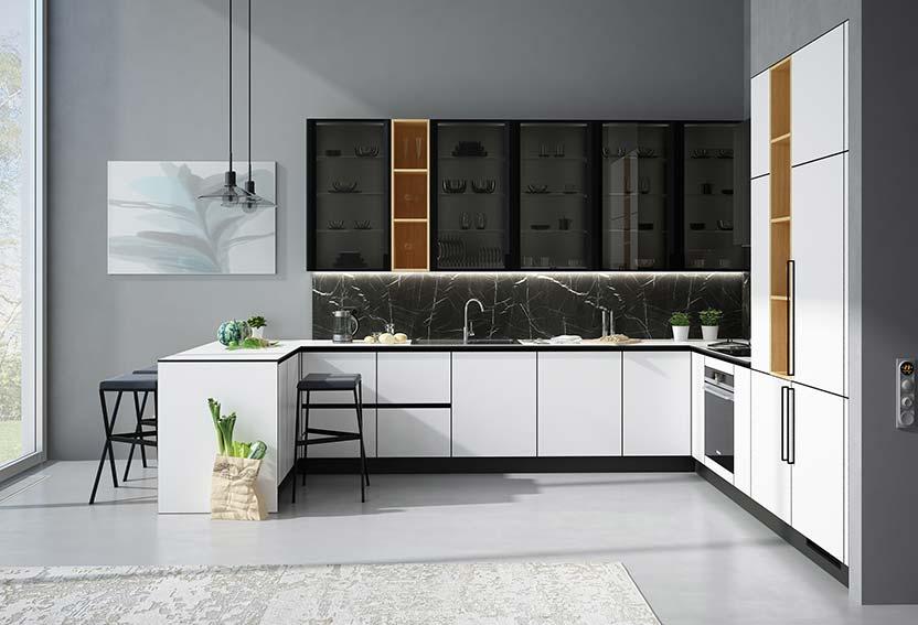 Встроенный холодильник в кухонный гарнитур: схема и размеры шкафа и установка своими руками, как спрятать