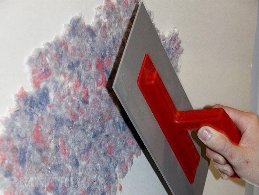 Как наносить жидкие обои на стену: пошаговая инструкция с фото и видео