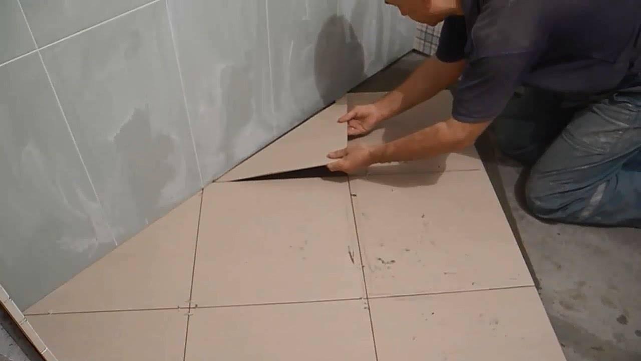 Укладка плитки на пол по диагонали — особенности монтажа и правила выбора плитки