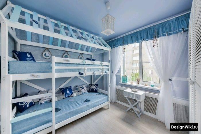 50 детских комнат для разнополых детей: супер-идеи