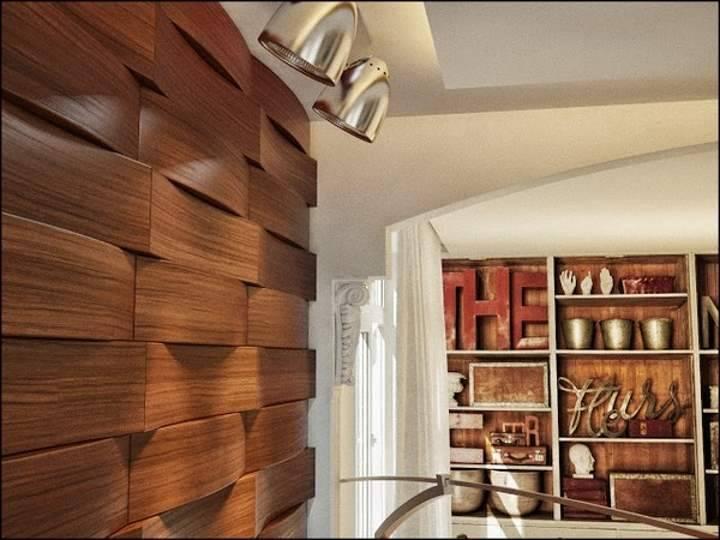 Плюсы Деревянных панелей для внутренней отделки стен в интерьере - Обзор