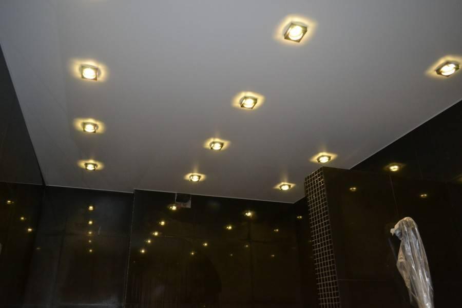 4 совета, какие светильники для натяжного потолка выбрать