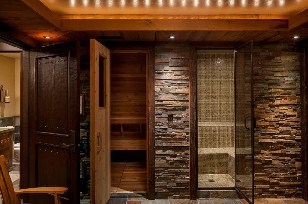 Интерьер бани: идеи дизайна сауны и бани внутри | дом мечты