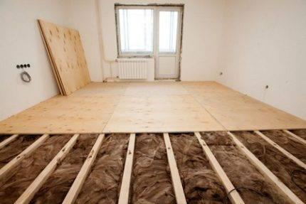 Теплый пол на деревянный пол: методы и принципы устройства системы