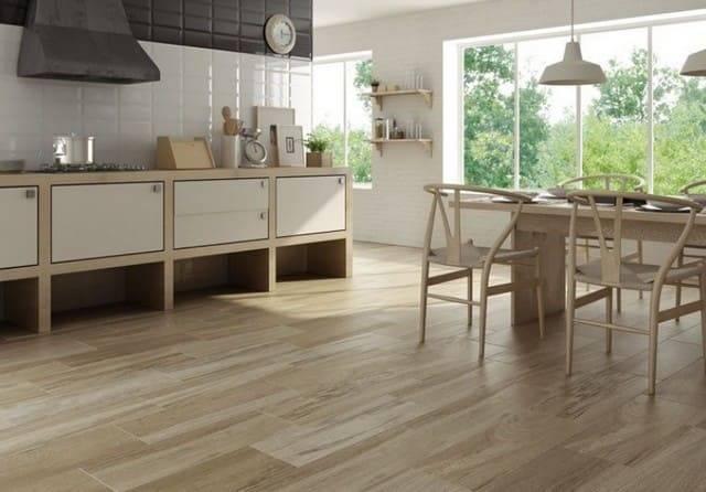 Плитка для кухни на пол - 90 фото современного дизайна и нюансы оформления кухни