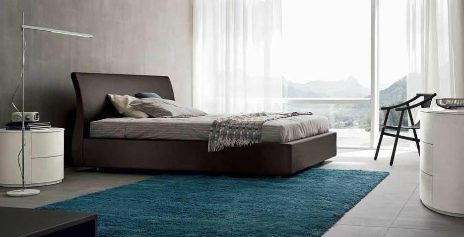 Спальня в стиле модерн - выбор материалов и предметов интерьера