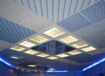 Какие бывают варианты подвесных потолков – обзор потолочных конструкций