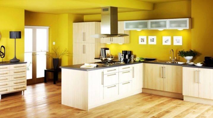 Моющаяся краска для стен кухни