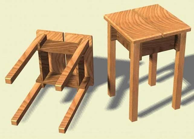 Стул из дерева своими руками: ход работу включает изучение фото, поиск схемы и чертежа с размерами, распиловку, чтобы сделать и покрасить красивую мебель