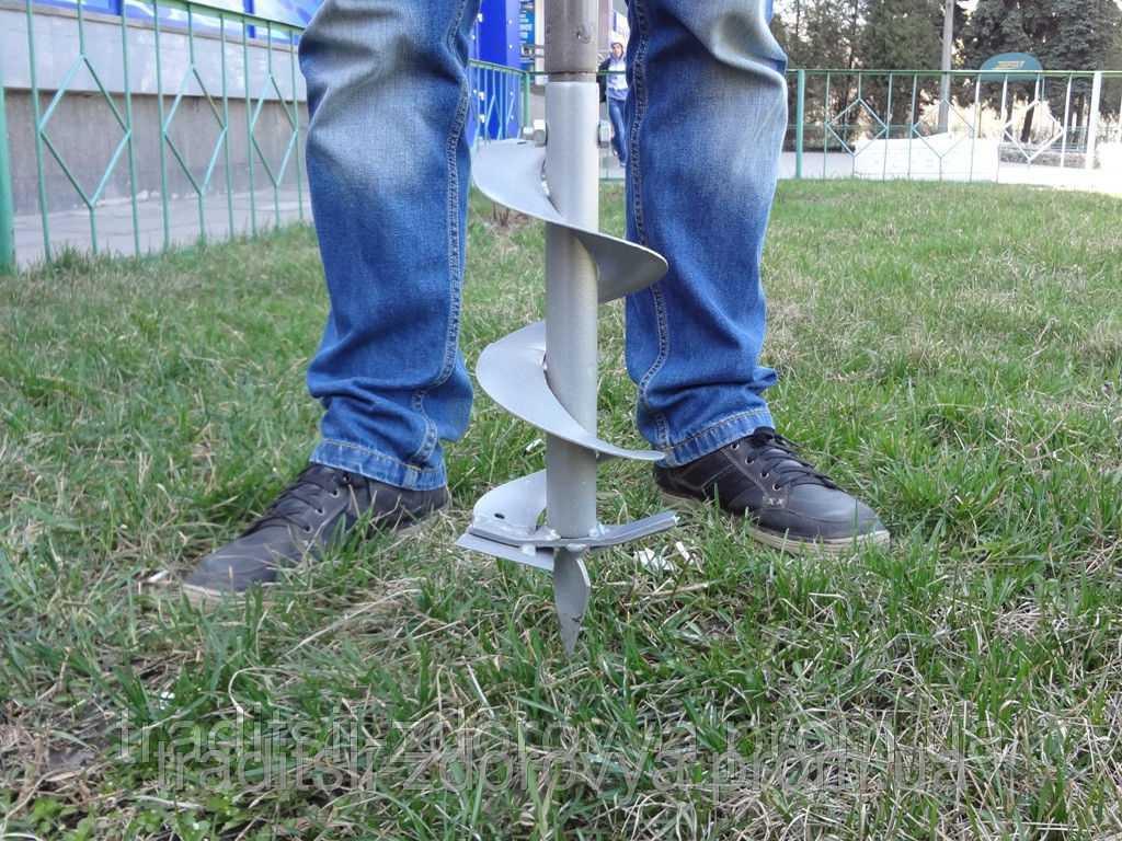 Как сделать ручной бур для столбов своими руками: пошаговая инструкция, чертежи, размеры, необходимые материалы, сборка