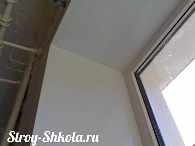 Простые откосы из гипсокартона: инструкция