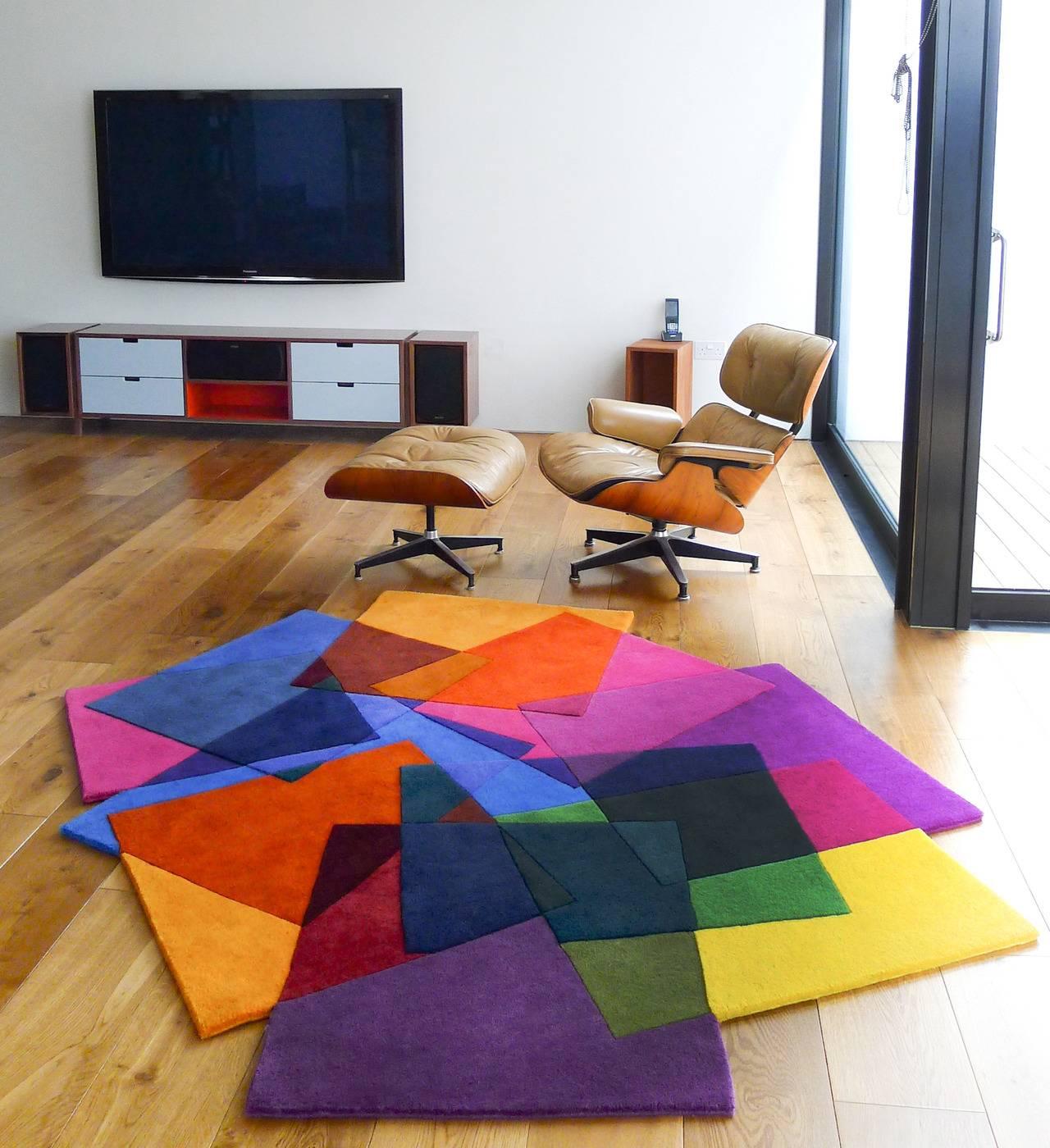 Длинноворсовые ковры — больше уюта и больше тепла! (23 фото)