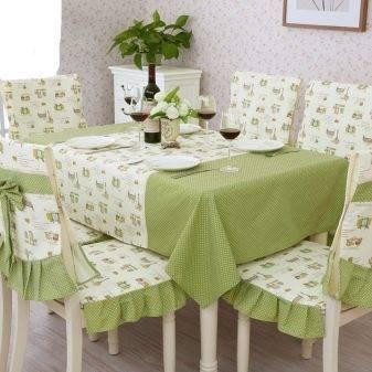 Клеенка на стол для кухни: прозрачная и силиконовая скатерть, как приклеить термоклеенку, как постелить покрытие на кухонный, плюсы и минусы