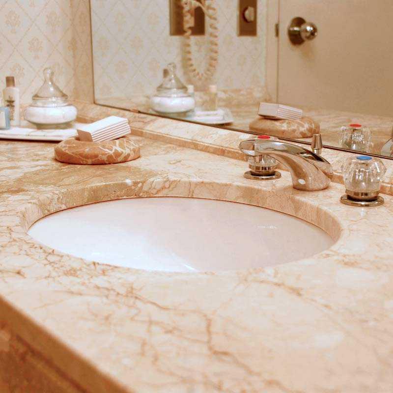 Изготовление столешницы в ванную своими руками