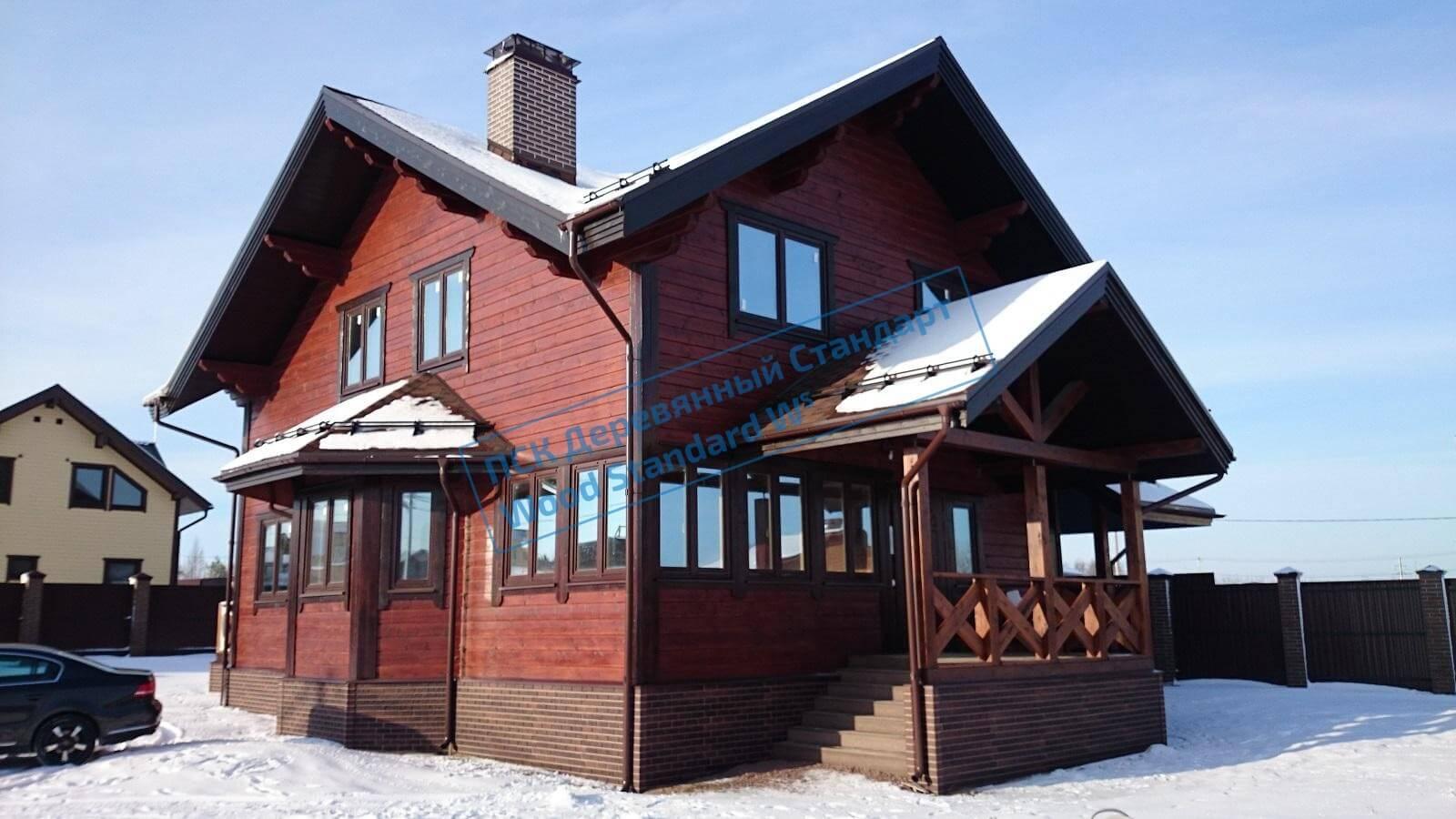 Дома из лиственницы - плюсы и минусы строительства и эксплуатации