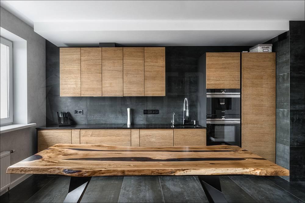 Современный интерьер кухни: идеи дизайна реальных фото примеров