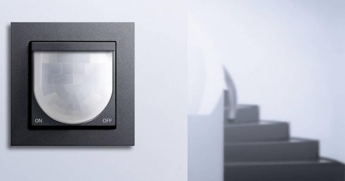 Датчик движения для включения света: схемы установки в помещении и на улице. особенности монтажа, настройка и подбор параметров (120 фото)