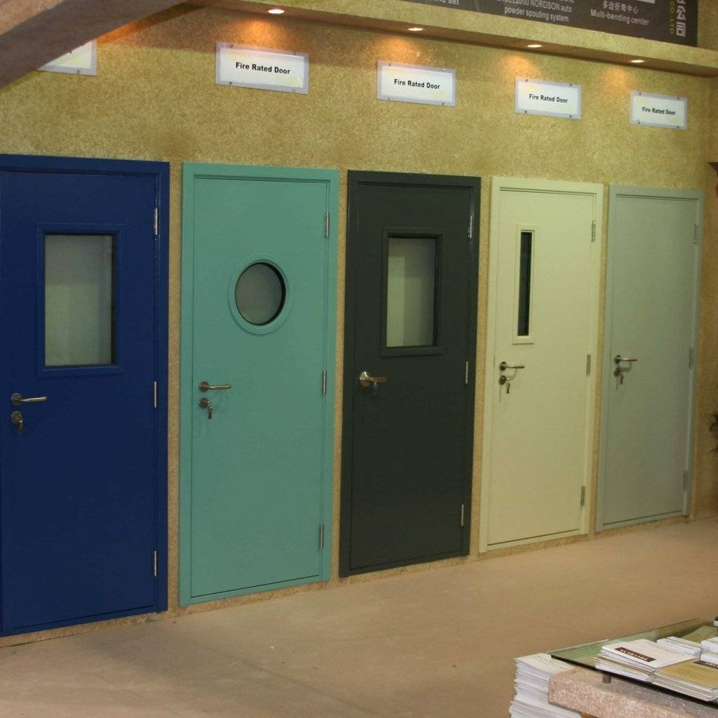 Противопожарные металлические двери: как выбрать | двери дома