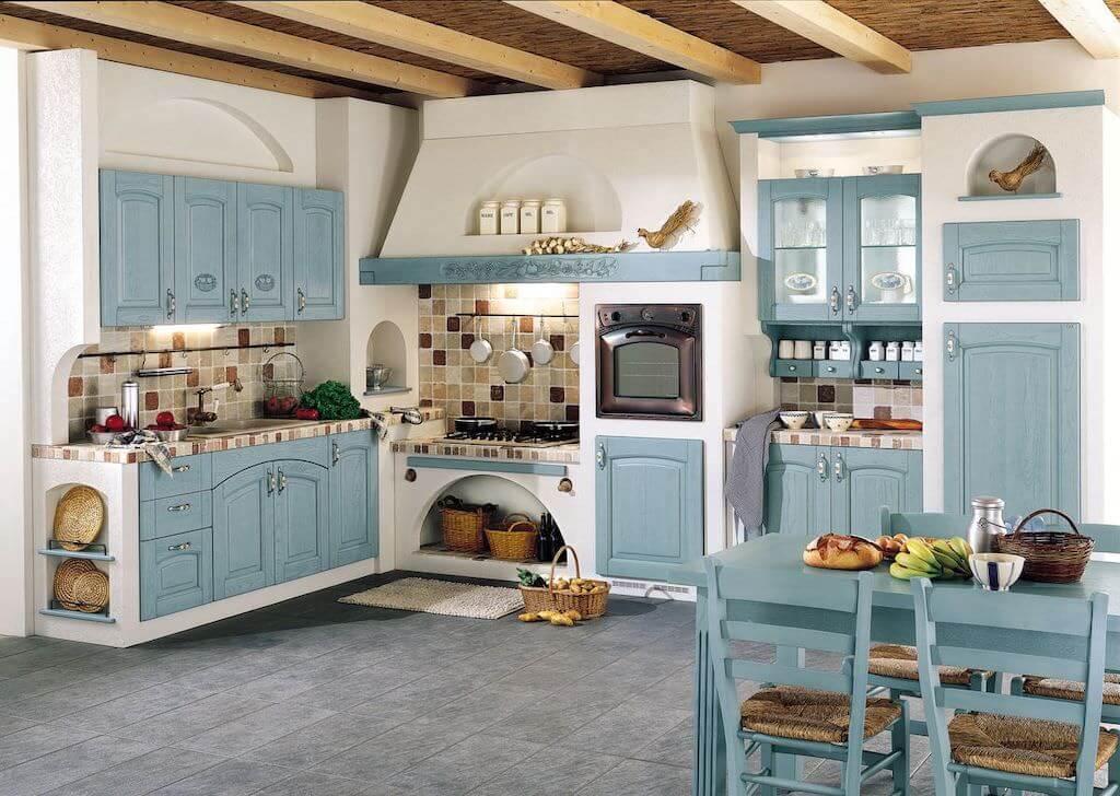 Кухня в деревенском стиле: дизайн и особенности интерьера для загородного дома