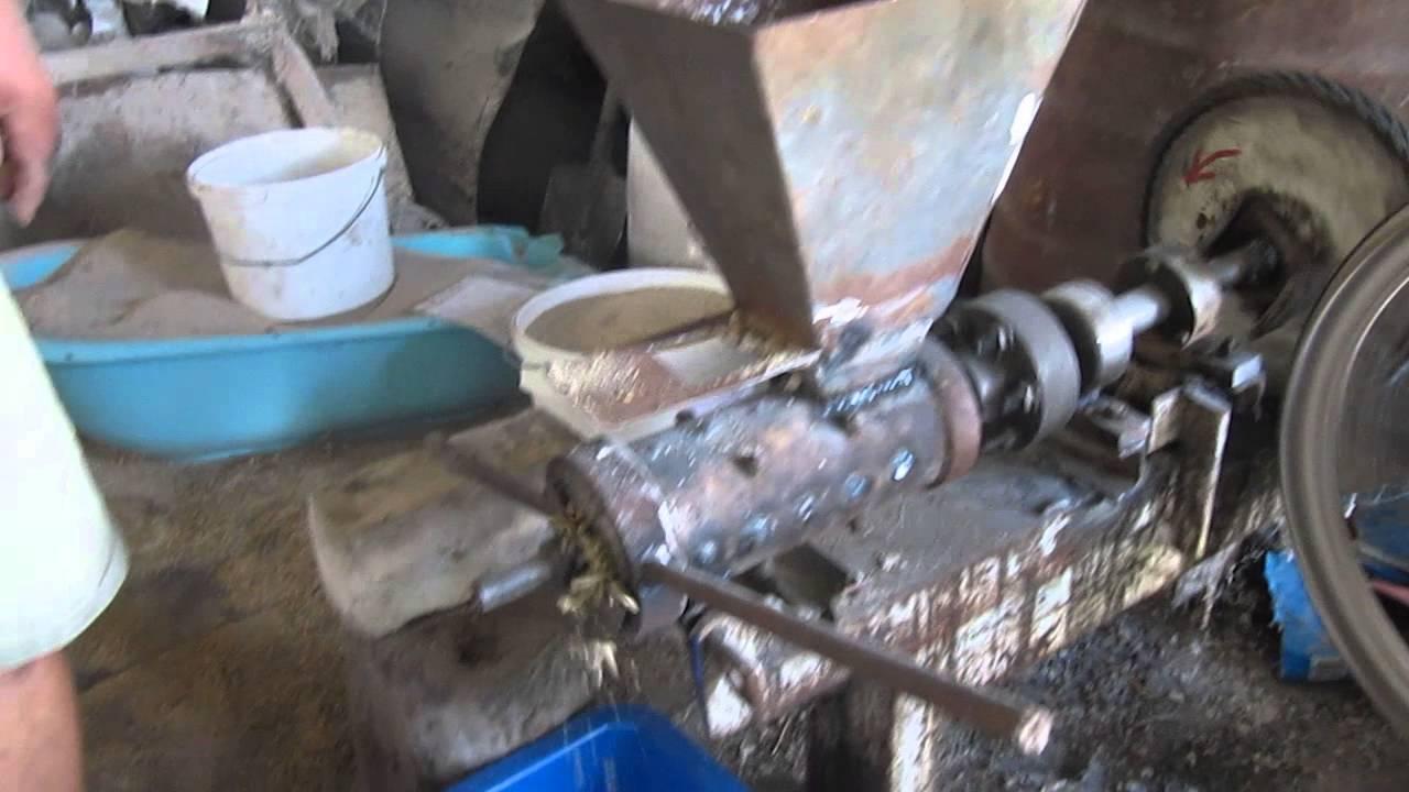 Самодельные установки для производства пеллет