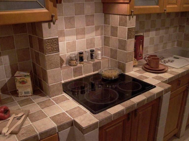 Столешница на кухню из керамогранита