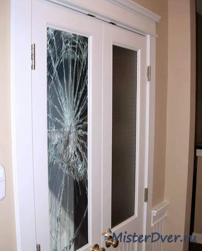 Замена стекла в двери своими руками: правила ремонта своими руками, инструкция
