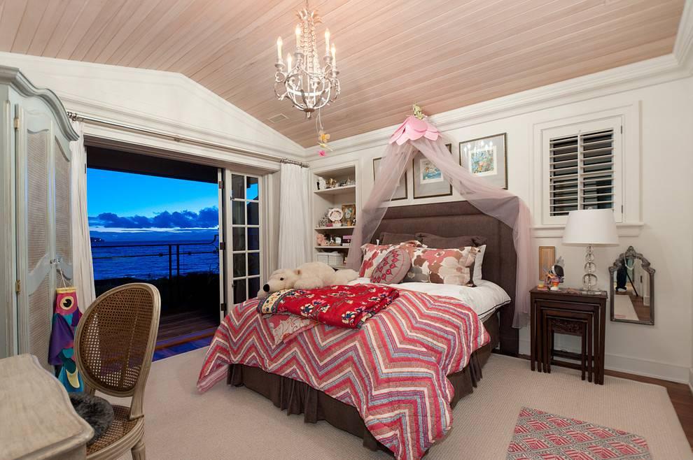 Какой потолок лучше сделать в детской комнате - лучшие советы по выбору материала и цвета