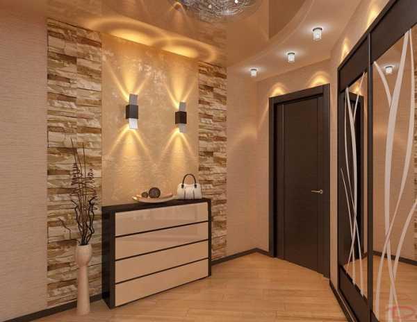 Какой лучше сделать потолок в прихожей: 80+ фото, примеры отделки коридора