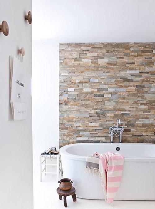 Керамогранит под камень: плитка для стен с бесшовной текстурой, настенные модели под натуральный оникс в интерьере