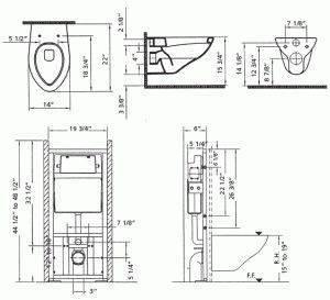 Подвесной унитаз: виды и размеры инсталяции + установка своими руками: видео и фото