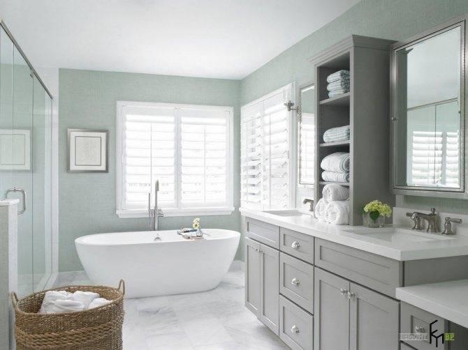 Ванная в частном доме — лучшие идеи размещения и оформления ванной комнаты (80 фото)