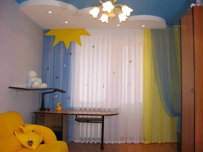Комната для девочки: как выбрать шторы