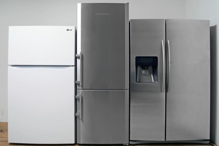 Стандартные размеры холодильника: выбираем правильно!