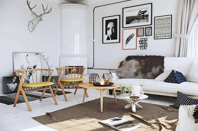 Скандинавский стиль в интерьере малогабаритных квартир: фото, особенности и варианты оформления