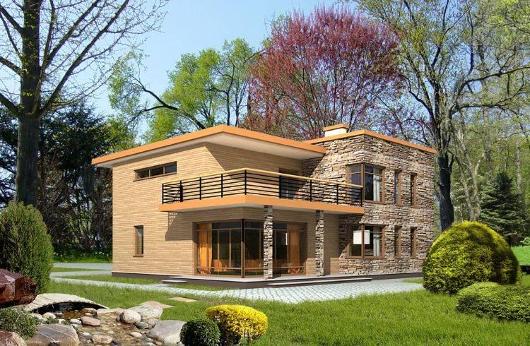 Проекты домов с плоской крышей: лучшие идеи для строительства и оформления