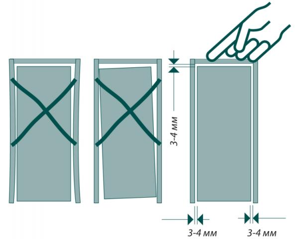 Как собрать коробку межкомнатной двери