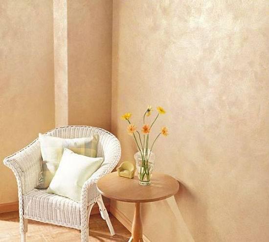 Специфика декоративного покрытия мокрый шелк