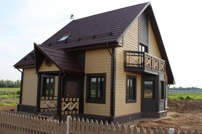 Отделка цокольным сайдингом: 180+ (фото) домов своими руками