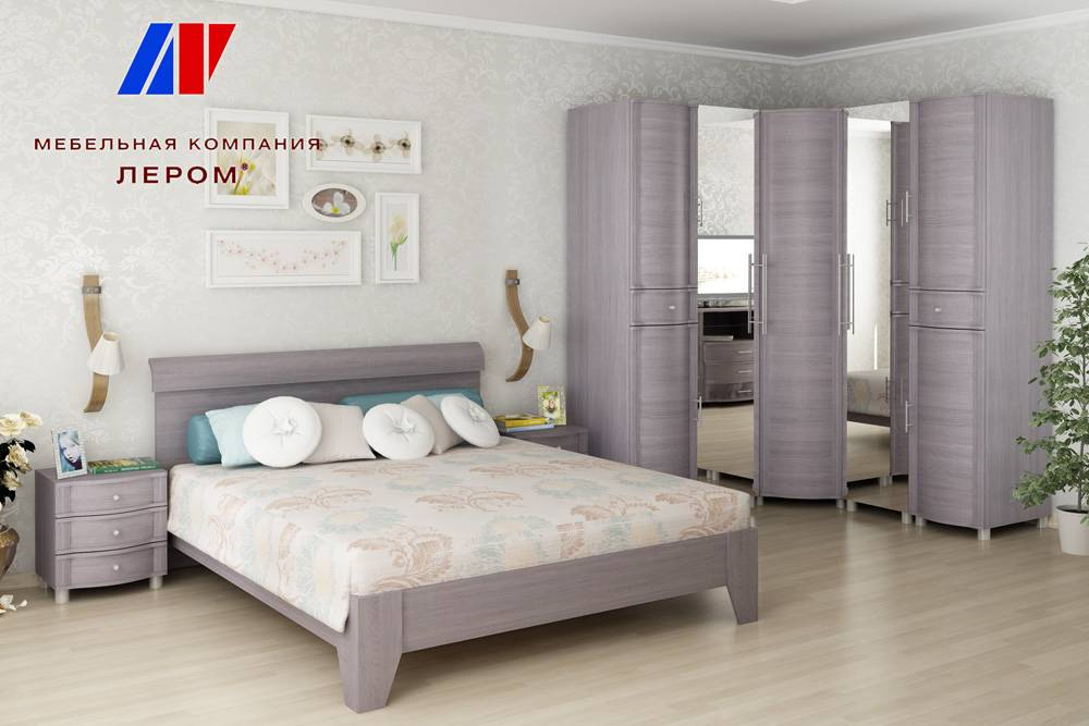 Спальни фабрики «Лером»