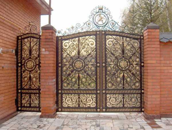 Ворота своими руками – 120 фото, чертежей и эскизов не сложных современных и классических вариантов ворот