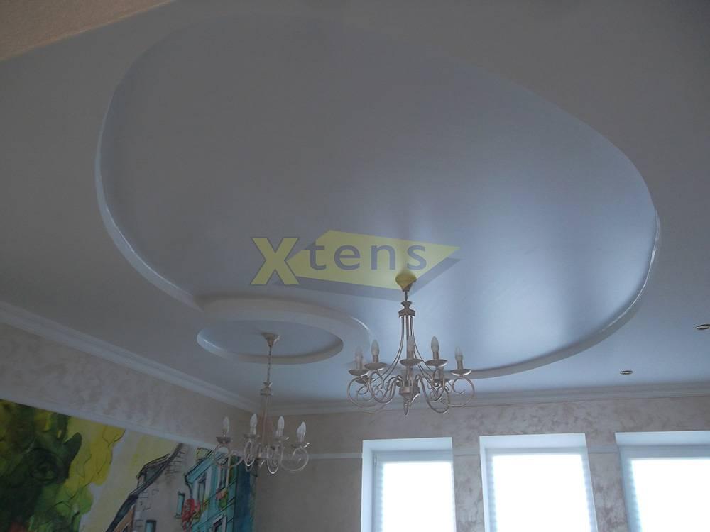 Какие натяжные потолки лучше выбрать: сатиновые или матовые?