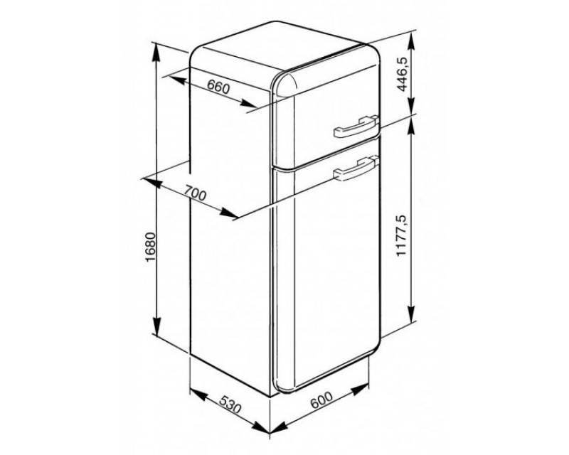 Размеры холодильника: стандартные и нестандартные габариты