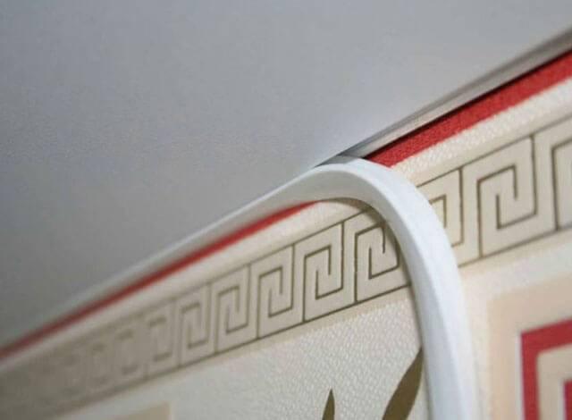 Потолочный плинтус под светодиодную ленту - всё о ремонте потолка