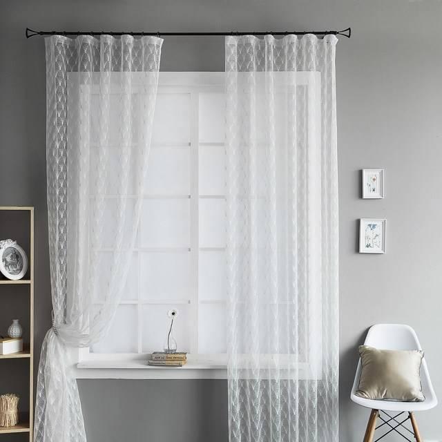 Подбор тюля на окна для разных стилей