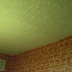 Чем покрасить потолочную плитку